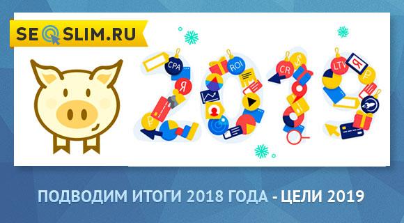 Итоги 2018 seoslim.ru
