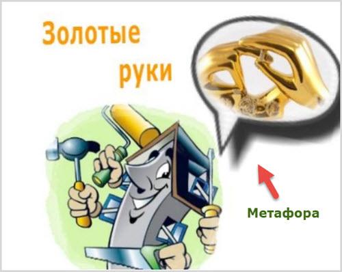 Пример метафоры
