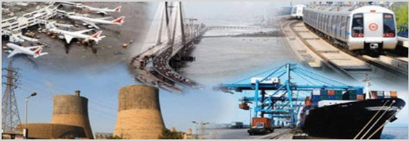 Пример инфраструктуры на одном фото