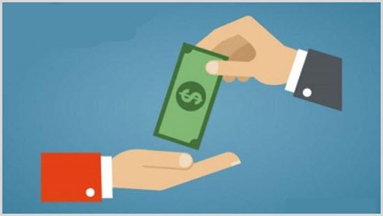 Пожертвование денег