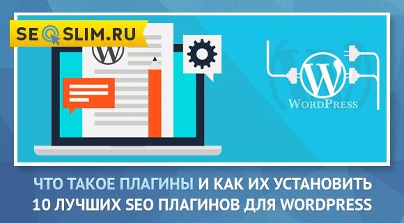Какие плагины установить для WordPress сайта