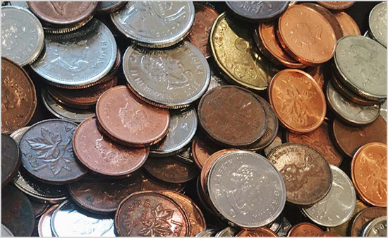Пример монеток