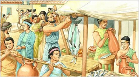 Древний рынок