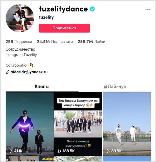 @tuzelitydance
