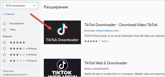 TikTik downloader